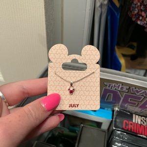 July Disney Necklace